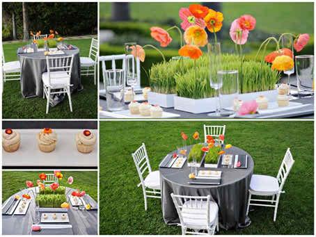 decor tips for open air weddings