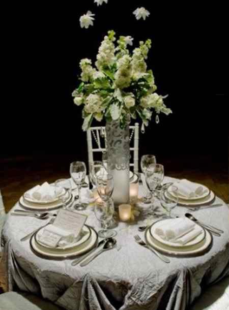 different flower arrangements for the reception 2 2