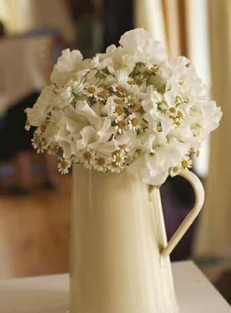 different flower arrangements for the reception