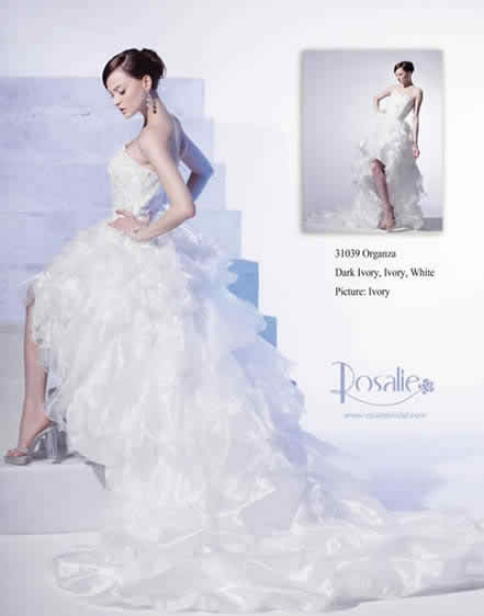 different models of traditional bridal gowns