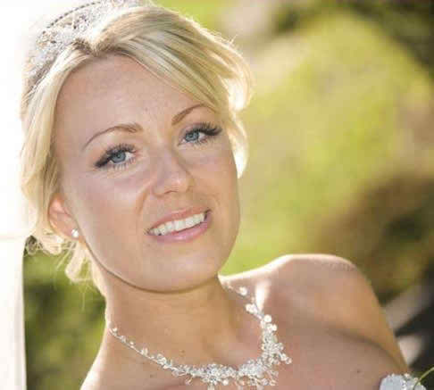 different styles for bridal makeup and hairstyles