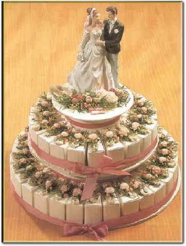different wedding cake options