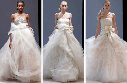 dream wedding dresses by Vera Wang