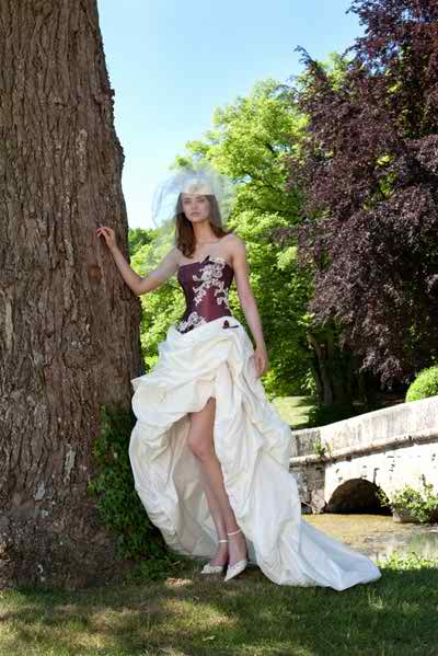 embroidered wedding gown 3