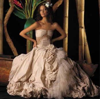 exotic wedding dresses 2 2