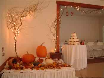 fall wedding elements