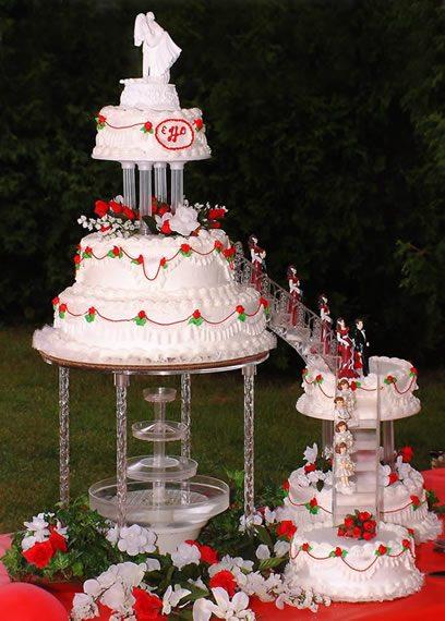 Fountain Wedding Cakes Topweddingsites Com
