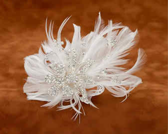 great suggestions for bridal hair accessories