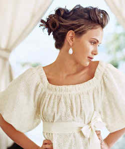 hairstyles with waves and curls in your wedding day