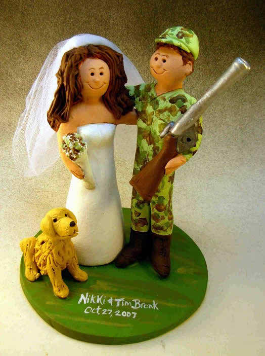 hunter wedding tops