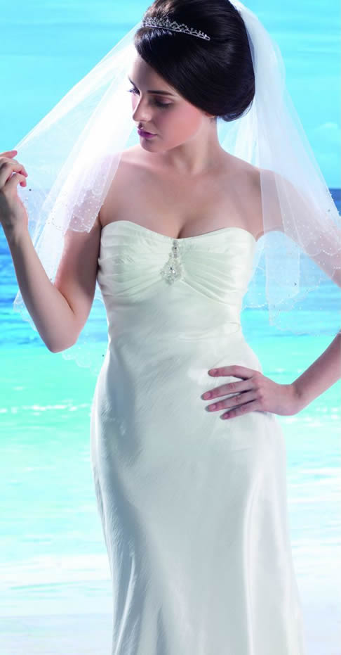 ideas of informal bridal gowns