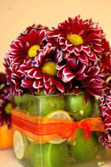 ideas of wedding reception flowers 3