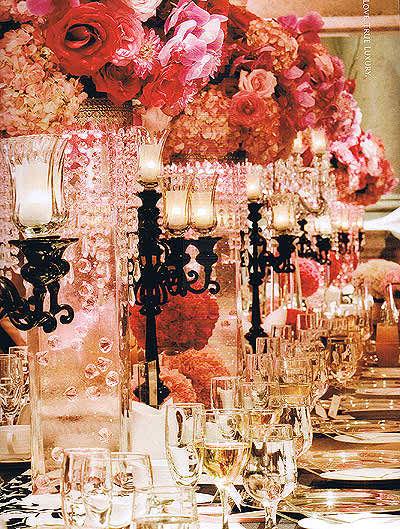 ideas of wedding reception flowers
