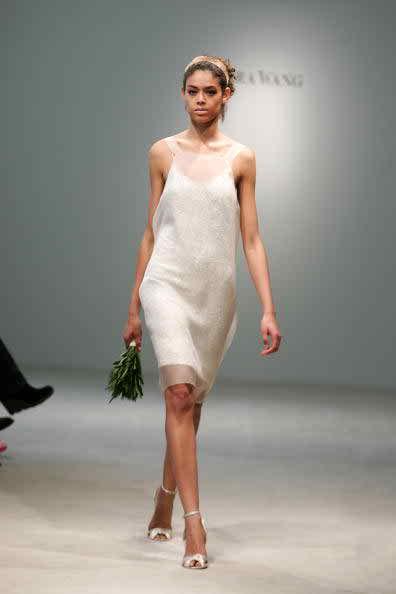 informal short wedding dress 2