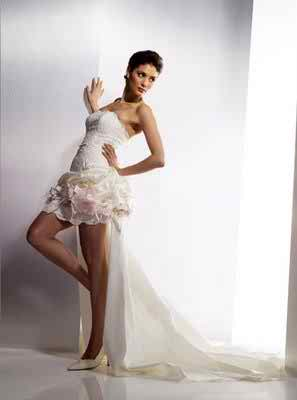 informal short wedding dress 22