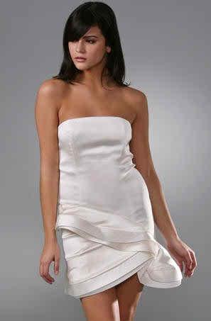 informal short wedding dress 24