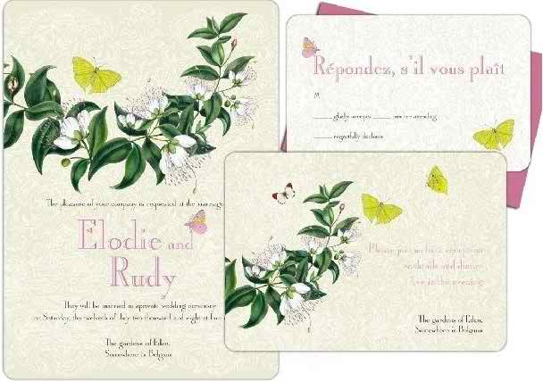 interesting models of wedding invitations 32