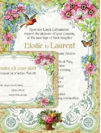 interesting models of wedding invitations 33