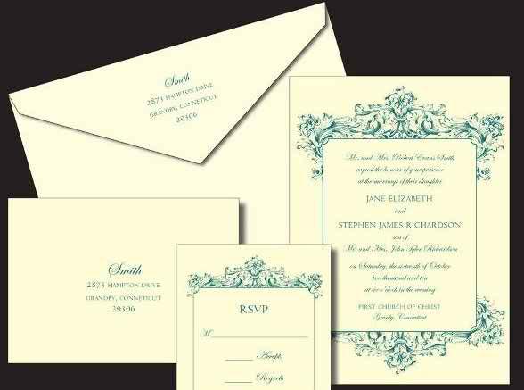 interesting models of wedding invitations 34