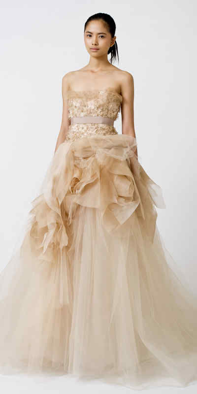 latest collection Vera Wang