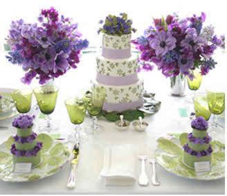 lilac wedding flowers 2