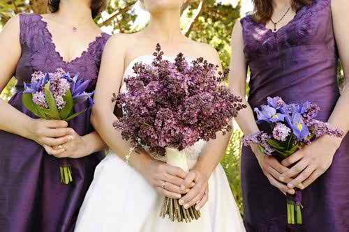 lilac wedding flowers 5