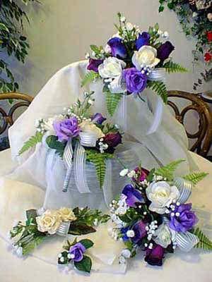 lilac wedding flowers 6