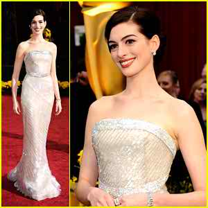 look like Anne Hathaway in your wedding day2