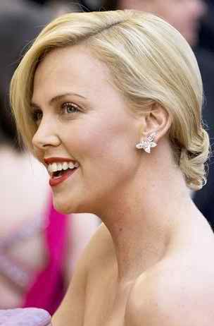 look like Charlize Theron in your wedding day