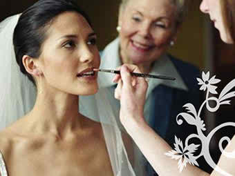 makeup artists for the bride