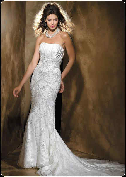 mermaid wedding dress 2