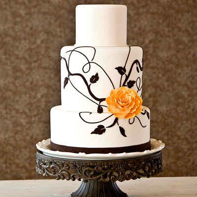 minimalist wedding cakes 3