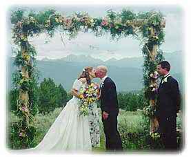 open air wedding 3