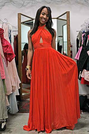 orange wedding dresses4