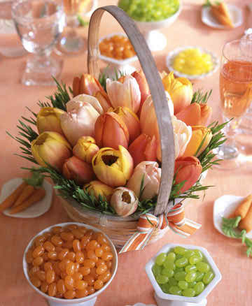 ornaments and arrangements with spring theme 23
