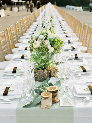 ornaments and arrangements with spring theme