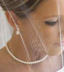 pearls at the wedding