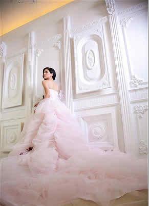 pink wedding dresses3