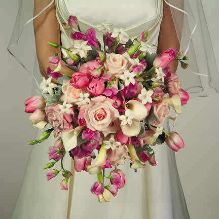 pink wedding flowers 2 3