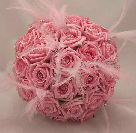 pink wedding flowers 2 4
