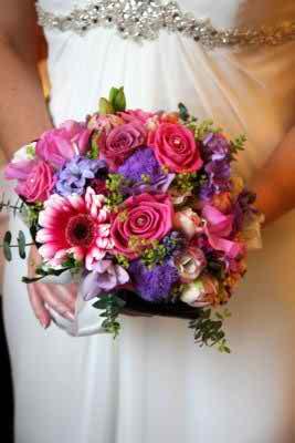 pink wedding flowers 3 3