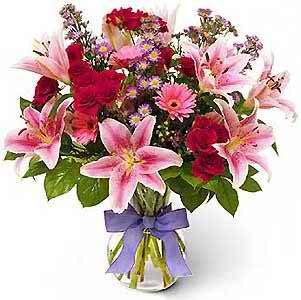 pink wedding flowers 4 2