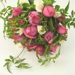 pink wedding flowers 4 4