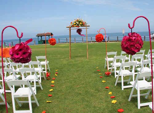 pink wedding flowers 4
