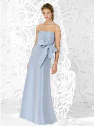 extra length bridesmaids dress