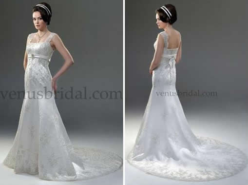 Popular details in 2011 bridal gowns