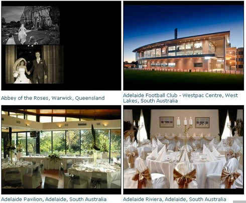 wedding venue receptions