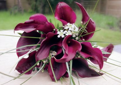 purple wedding flowers3