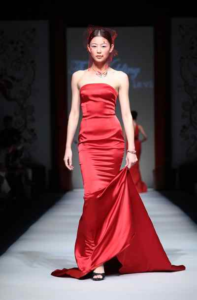 red wedding dresses 2