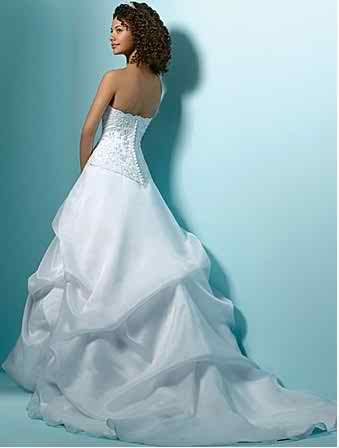 ruffle wedding dresses 4